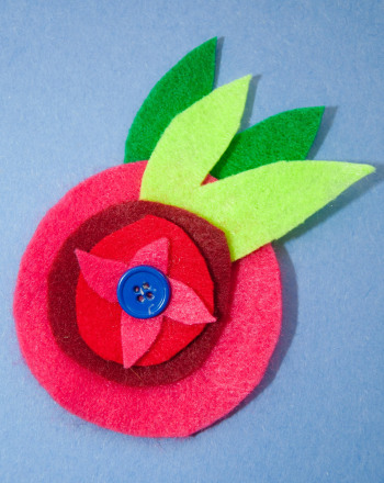 Fourth Grade Arts & crafts Activities: Flower Brooch