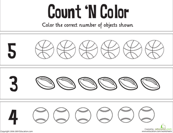 Counting Numbers 1-10 Resources Page 4 | Education.com
