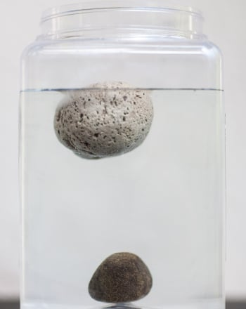 Floating Rocks Science Project Education Com