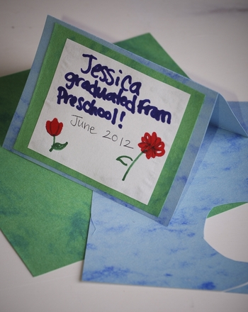 Preschool Holidays & Seasons Activities: Preschool Graduation Announcements