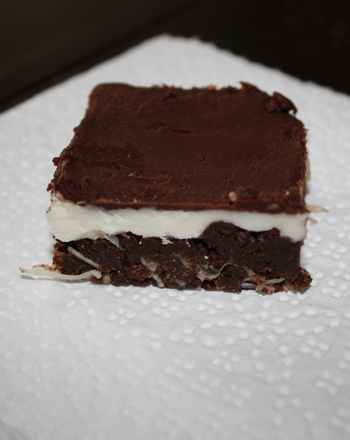 Fifth Grade Recipes Activities: Nanaimo Bars