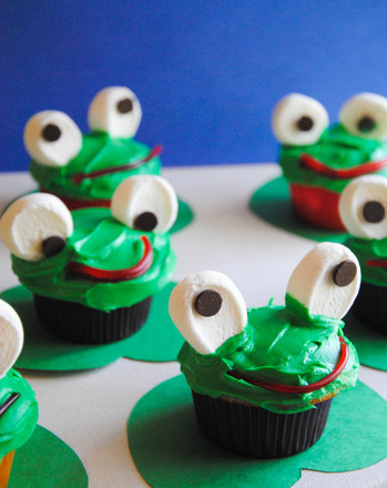 Fifth Grade Recipes Activities: Frog Cupcakes