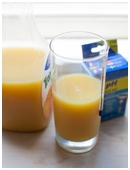 This experiment examines whether storing your orange juice at different temperatures affects its acidity.