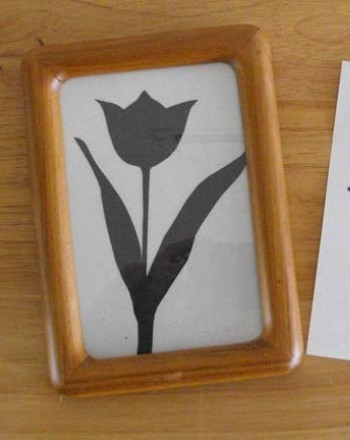 First Grade Holidays & Seasons Activities: Flower Silhouettes