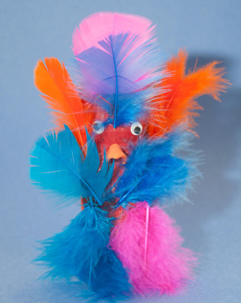 First Grade Arts & crafts Activities: Feathered Friends