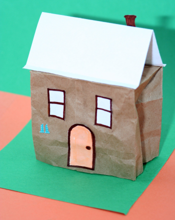 Second Grade Arts & crafts Activities: Bag House
