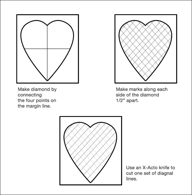 heart card diagram