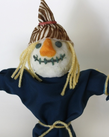 First Grade Holidays & Seasons Activities: Mini Scarecrow
