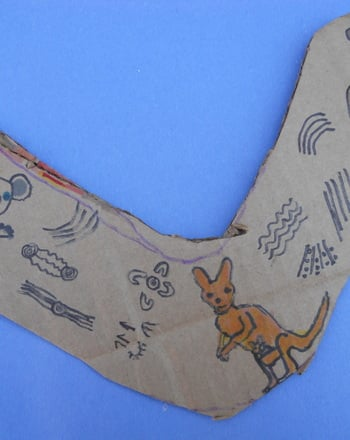 Fourth Grade Arts & crafts Activities: Make Your Own Boomerang