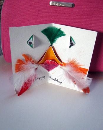 Second Grade Holidays & Seasons Activities: Creative Creature Pop-Up Card