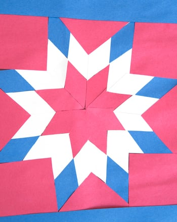 "Second Grade Holidays Activities: Patriotic ""Quilts"""