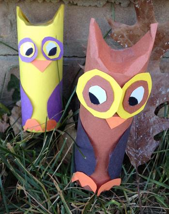 Third Grade Arts & crafts Activities: Wise Owl