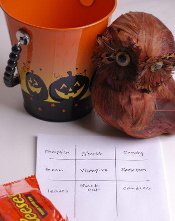 Third Grade Holidays & Seasons Activities: Halloween Bingo