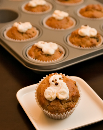 Third Grade Recipes Activities: Halloween Muffins