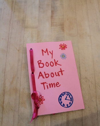 Kindergarten Reading & Writing Activities: Time Book About the Day