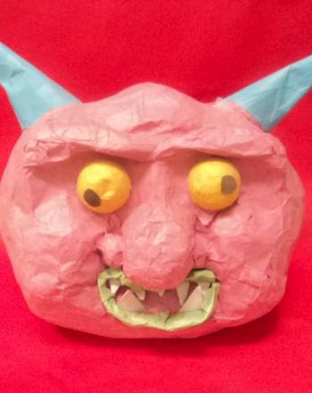 Fourth Grade Arts & Crafts Activities: Papier-Mâché Gargoyle