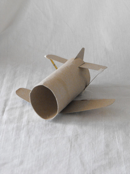 Second Grade Arts & Crafts Activities: Cardboard Airplane