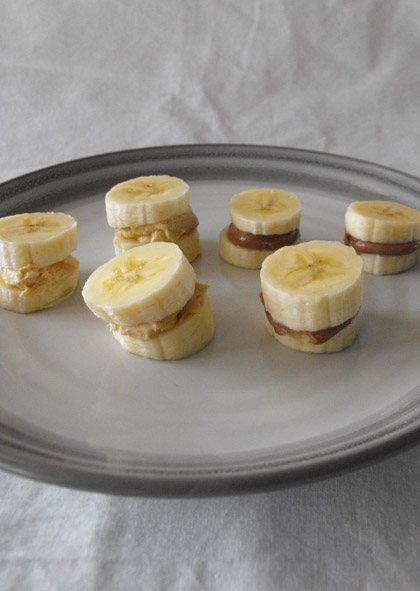 Kindergarten Recipes Activities: Banana Sandwich