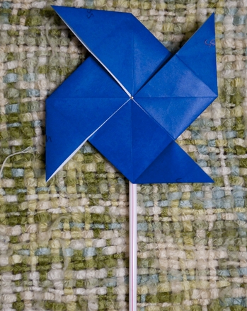 Third Grade Holidays Activities: Origami Pinwheel