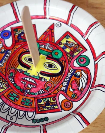 Make an Aztec Sundial