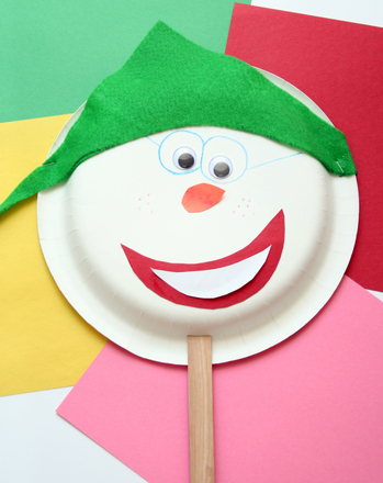 Preschool Social studies Activities: Make Popsicle Puppets...and Practice Communication