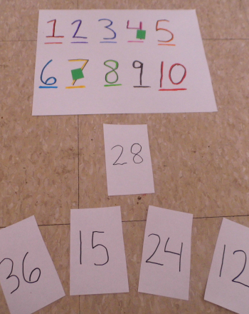 Third Grade Math Activities: Target Multiplication