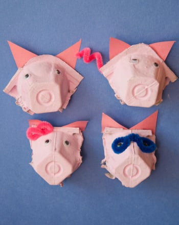 Kindergarten Arts & Crafts Activities: Pig Noses