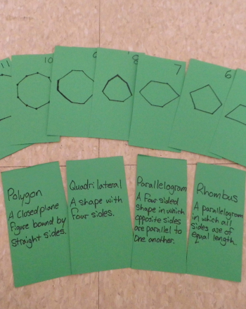 Fourth Grade Math Activities: Shape Identification