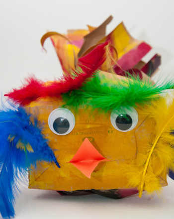 Kindergarten Holidays & Seasons Activities: Paper Bag Bird