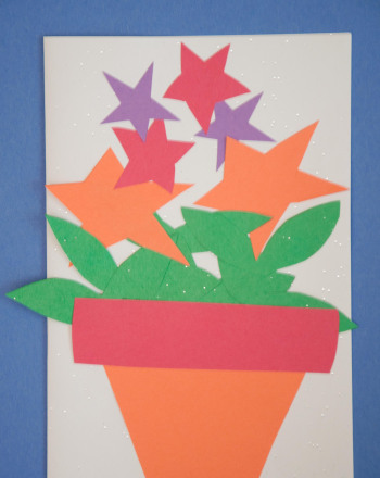 Third Grade Arts & crafts Activities: Star Card