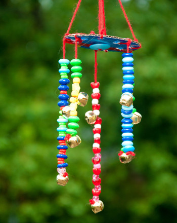 Kindergarten Arts & Crafts Activities: Making Wind Chimes