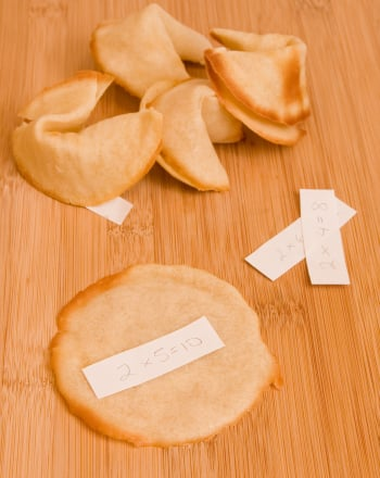Fifth Grade Recipes Activities: Fortune Cookie Recipe
