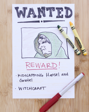 Second Grade Reading & Writing Activities: Wanted Poster