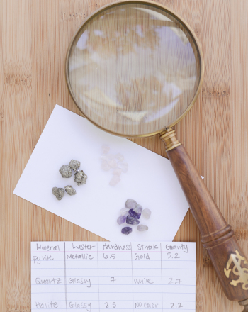 Identifying Rocks and Minerals for Kids | Science project