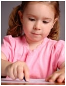 Learn what your child should be able to do at the beginning and end of first grade writing.