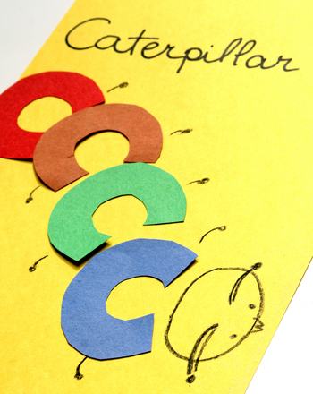 Kindergarten Reading & Writing Activities: Phonics Fun: C is for Caterpillar