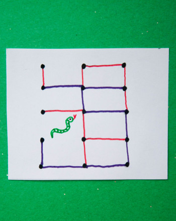 First Grade Math Activities: Play Snakes and Dots
