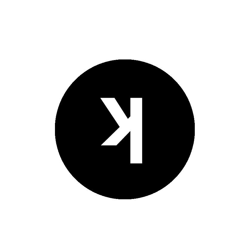 Inverted k