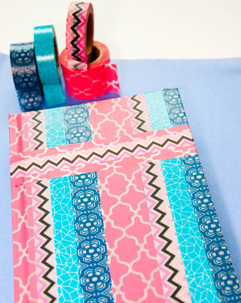 Fifth Grade Arts & Crafts Activities: Washi Tape Scrapbooking