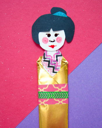 Fifth Grade Arts & Crafts Activities: Washi Ningyo