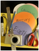 In this fun science fair project, make two different scale models  of our solar system using Astronomical Units and planets' relative size!