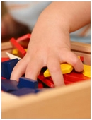 Recognizing objects as red or blue, round or square is integral to a child's cognitive development, and sets the stage for math concepts.