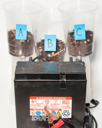 Fourth Grade Science Science projects: Soil Electrical Conductivity: Earthy Energy