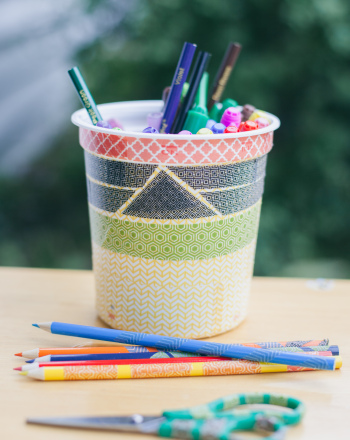 First Grade Arts & crafts Activities: Washi Tape School Supplies
