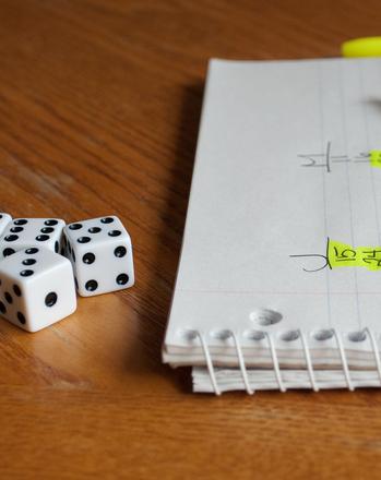 First Grade Math Activities: Roll the Dice