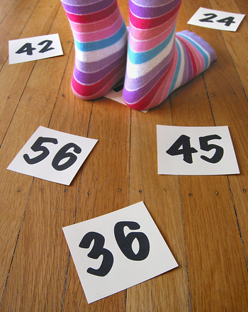 Second Grade Math Activities: Math Facts Game