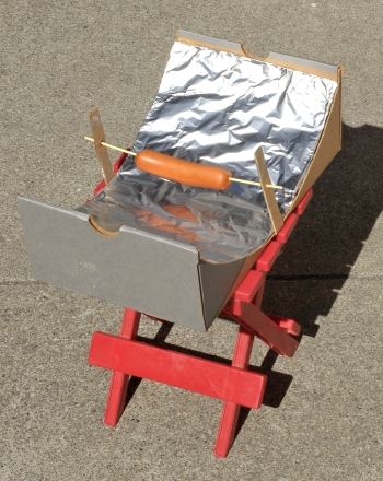 Solar Hot Dog Cooker Science Project Educationcom