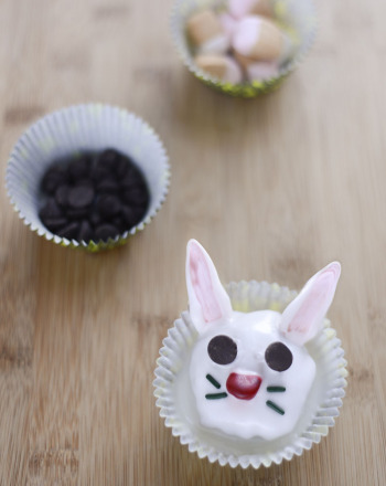 Third Grade Recipes Activities: Bunny Cupcakes