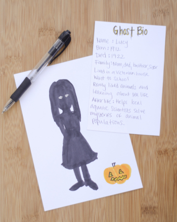 Fifth Grade Holidays & Seasons Activities: Ghost Biography