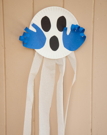 Preschool Math Activities: Scary Ghost